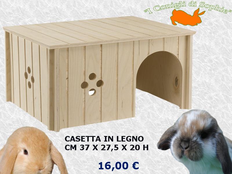 Il mercatino gabbie e accessori - Casetta per conigli ...